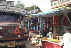 Passing through a town in Tripura